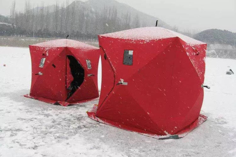 High Quality 4 Season Military Camouflage Tent Pop Up Winter Ice Fishing Tent