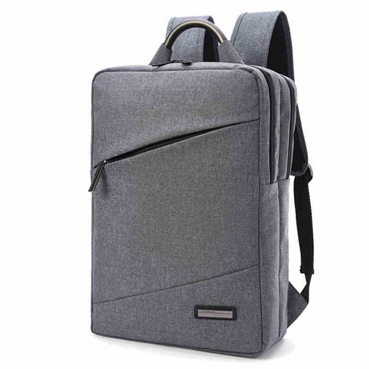 Best sell fashion style waterproof nylon business laptop backpack bag with pc pocket korean
