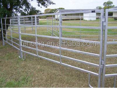 ranch fence panels for horse / goat / cattle powder coated
