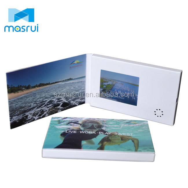 OEM design 2.4inch lcd business card name card