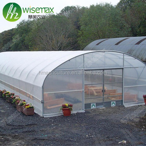 Hot sale single span agricultural used commercial greenhouse in America
