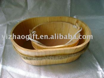 Hot Selling Unique Wooden Gift Basket