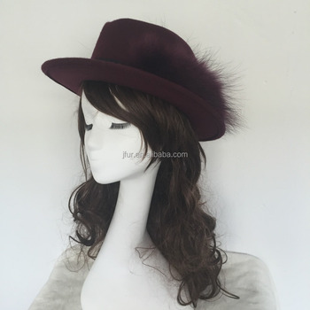 4993acc6b85 Noble Women Wide Brim Floppy Bowler Cloche Hat Fedora Formal Dress ...