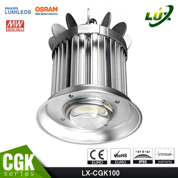high quality high power industrial led high bay light 150w