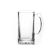 hot sell beer cup glass pint sized glass beer mug 16oz Sublimation Coated Clear Glass Beer and Cider Cup