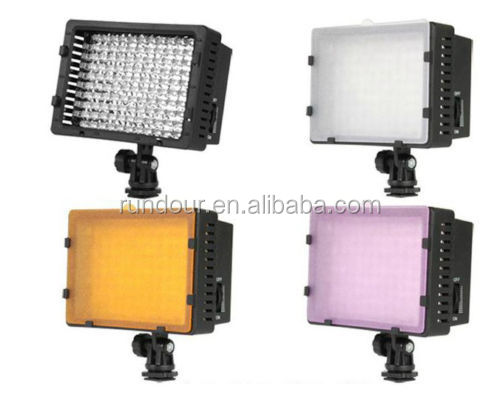 CN-LED camera video light For Canon EOS 5D 7D 600D 1100D 1200D 5D