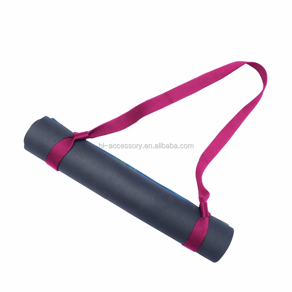 China Groothandel fabrikant yoga mat carrying sling strap