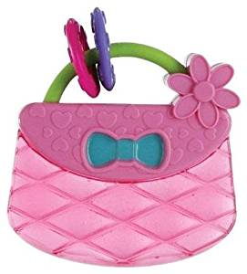 Bright Starts Pretty in Pink Carry & Teether Purse - 0-12 Months - First Adventures