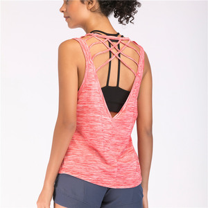 Workout Clothes Tank Tops for Women Yoga Gym Shirts Ribbed Racerback Tight Fit Basic Activewear