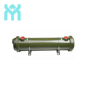 industrial shell tube Horizontal hydraulic oil chiller