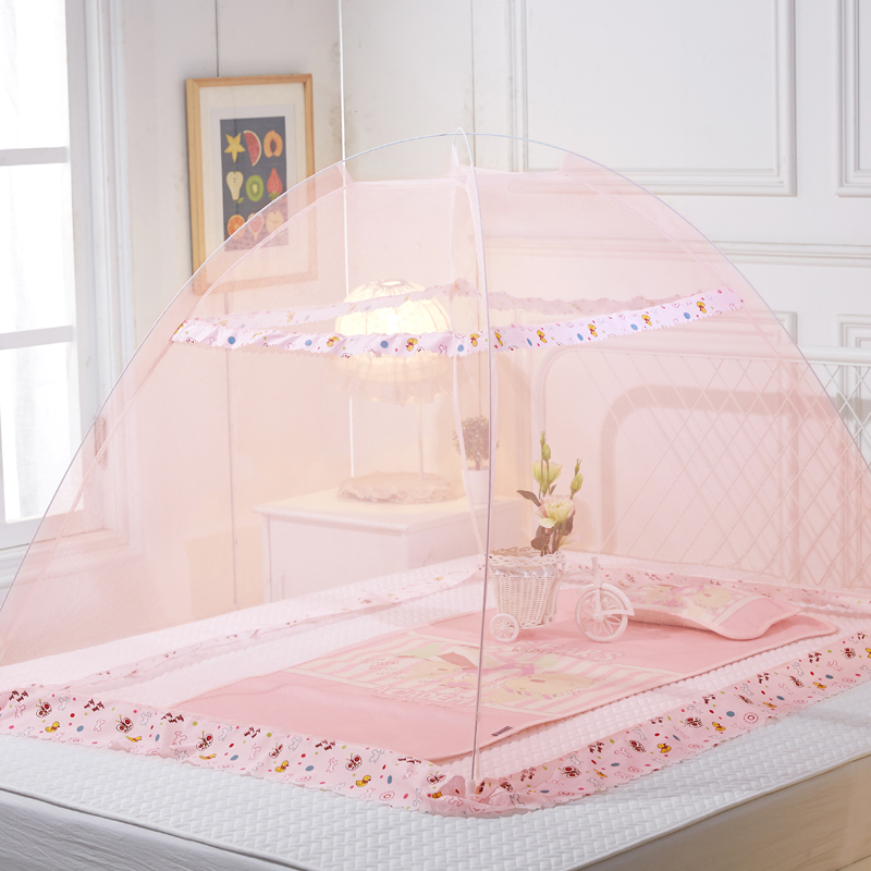 Baby Bedding Buy Cheap Cute Baby Mosquito Net Portable Folding Type Comfortable Infant Pad With Sealed Mosquito Net Baby Bedding With Pillow Always Buy Good