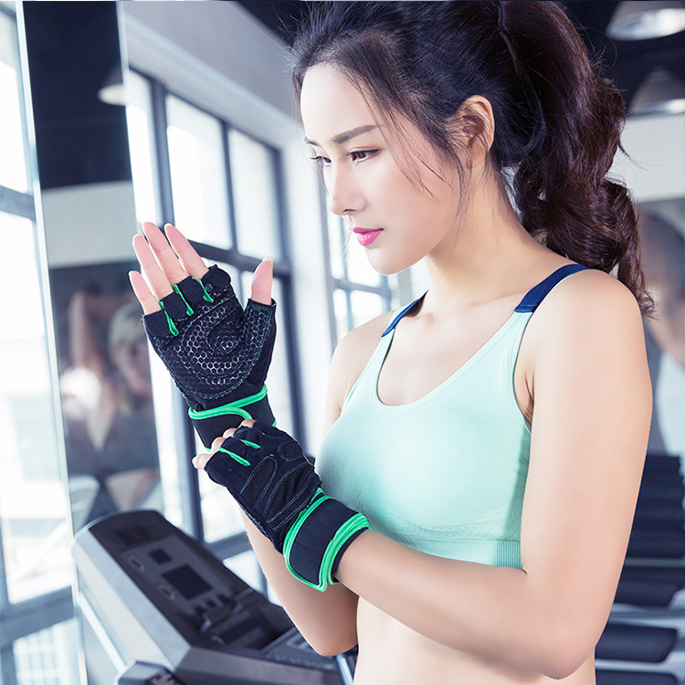 best gym workout body building training fitness gloves hand sports for women