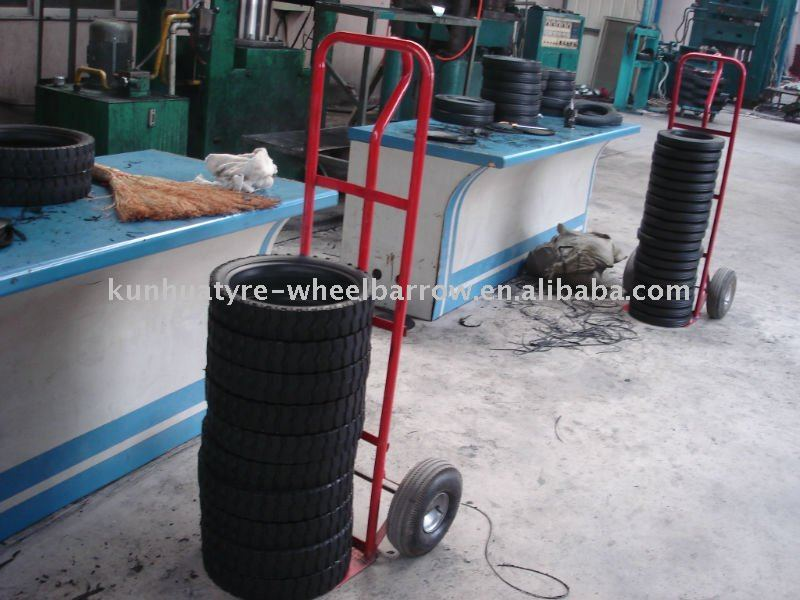 Rubber Powder Solid Wheel