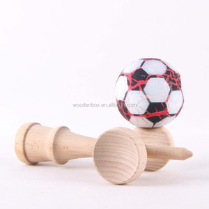 Popular folk wooden game kendama toy for wholesale
