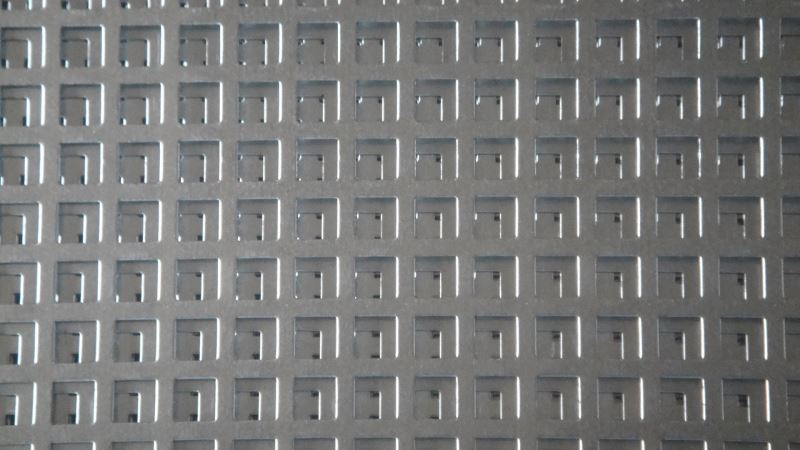 high quality perforated metal mesh
