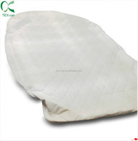Fitted Crib and Toddler Bamboo Mattress Pad Cover