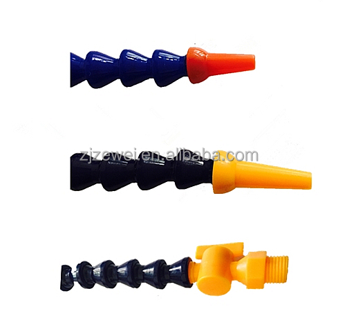 "7/8"" round Nozzle Oil Water Flexible Coolant Pipe 12"""
