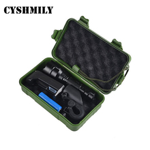 CYSHMILY 10 watt security 18650 battery t6 led hand torch bike rechargable flashlight set