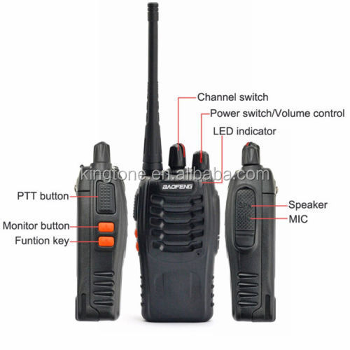 china two way radio walkie talkie baofeng 888s uhf two way radio uhf 400-470mhz radio