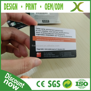 free design free sample plastic calling card pvc employee id