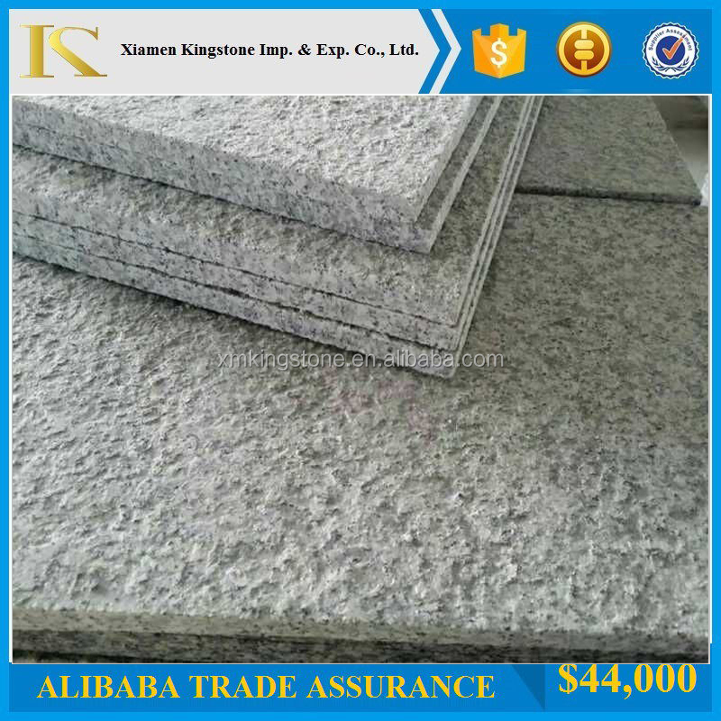 Chinese Light Grey Granite G603 Flamed Tiles(Good Price+Direct Factory)