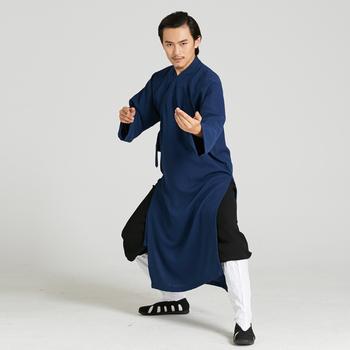 719c2aa2c03 Taoist Robe Style Tai chi Uniform Kung fu Martial arts Wing Chun Suit