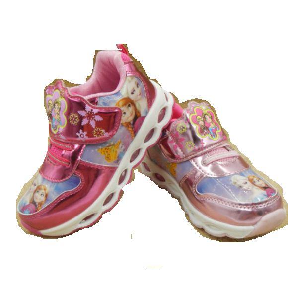 f1413635c2c Para las niñas de los niños dulce zapatillas de deporte casuales con luz  suave deportes zapatos