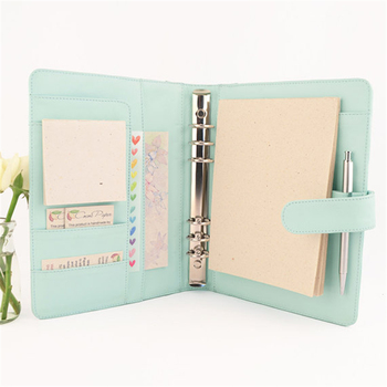 image about Planner Binders known as Attractive A5 Leather-based Ring Binder Marriage Planner Customized Marriage Planner - Obtain Wedding ceremony Planner Products upon
