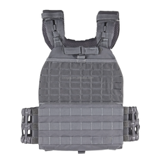 Molle plate carrier with pouches tactical vest for body armor plates NIJ III or IV