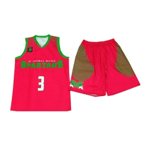 High Quality Full Sublimation Basketball Jersey Design Template