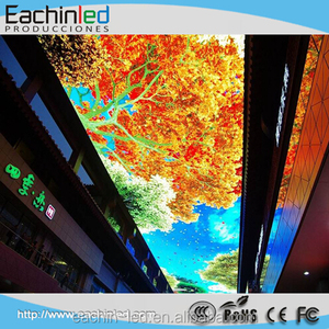 ceiling hanging hd led video wall p3.9mm 4k control room monitor p4mm led screen display
