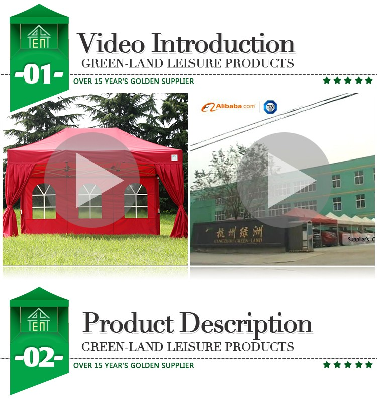 Colorful Folding Quick Shade Tent Carpa Exposicion Gazebo Marquee