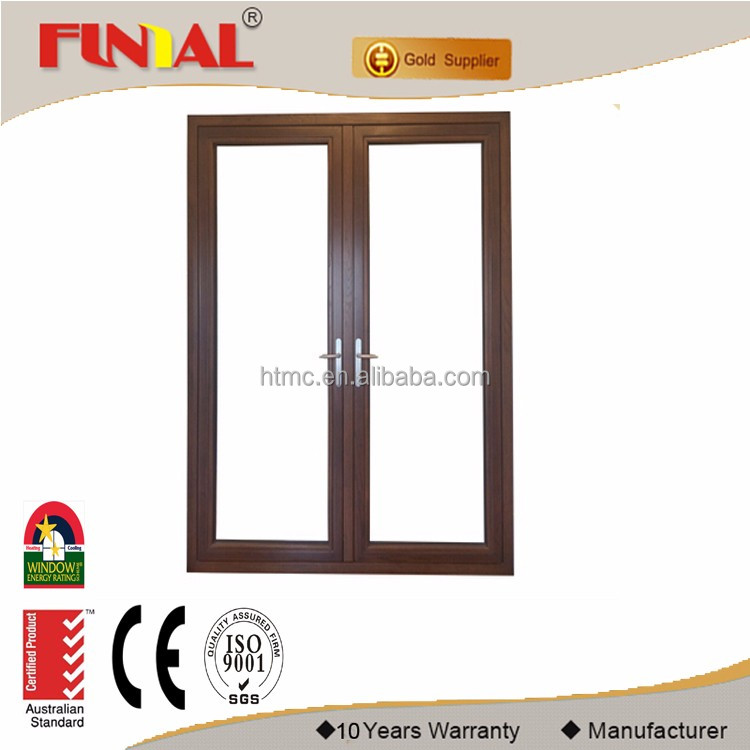 Latest Design 90 degree hinge Aluminium Casement window comply with Australian Standard