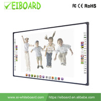 Fast response rate 2 touch 96 inch screen optical 96 inch interactive whiteboard for Education learning