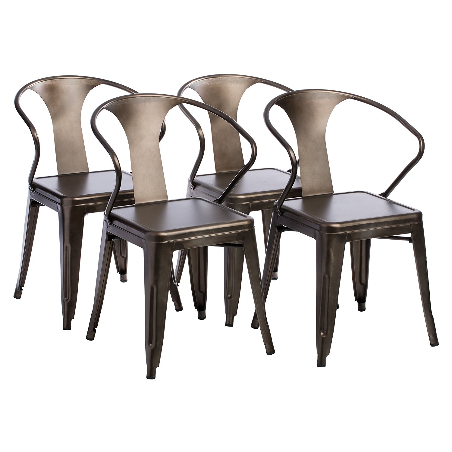 Charmant Get Quotations · Vintage Tabouret Stacking Chairs (set Of 4)