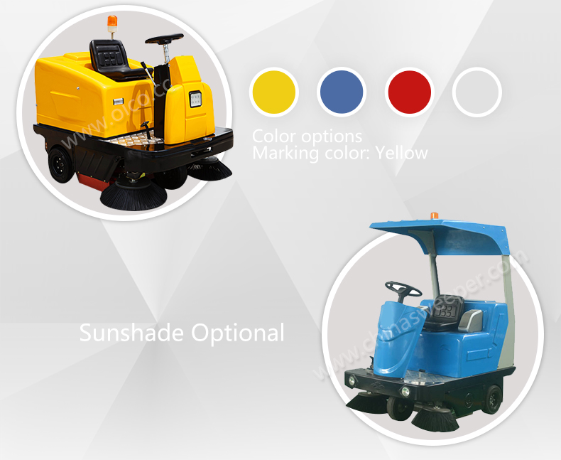 Widely-Respected Ride-On Floor Sweeper Floor Cleaning Machine