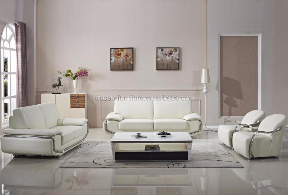 Luxury Sofa Sets Living Room Furniture Stainless Steel Arm Sofa