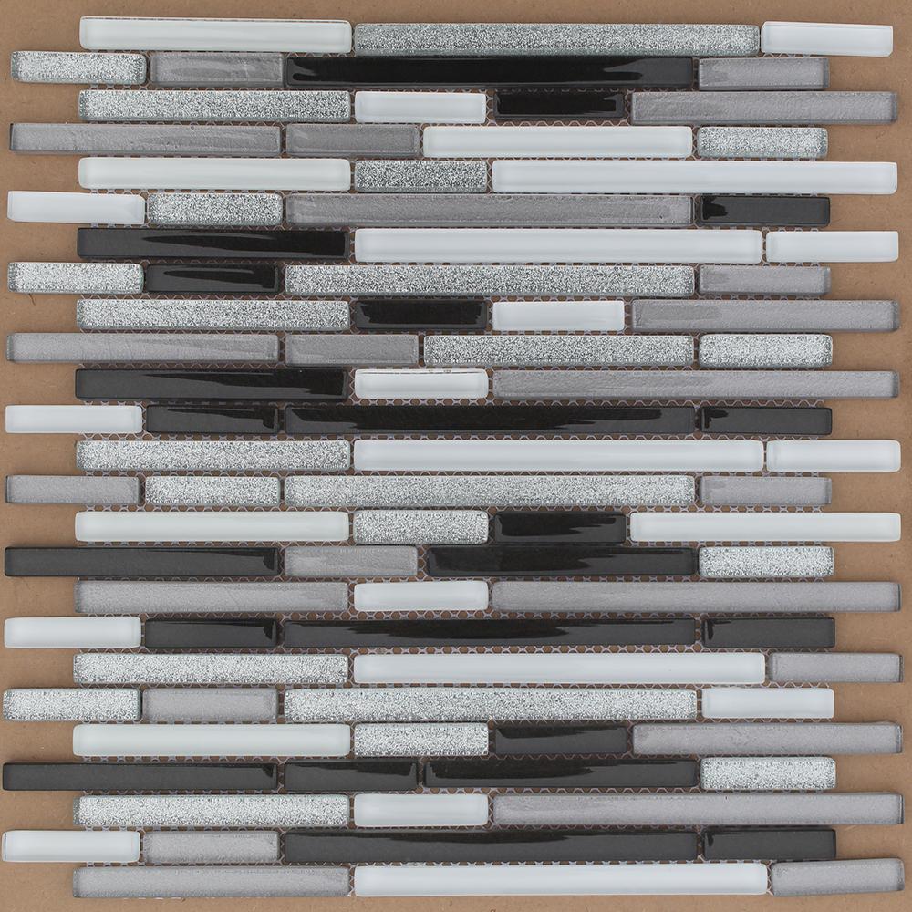 China Wholesale Black And White Glass Mosaic Kitchen Backsplash Tile Buy Glass Mosaic Kitchen Backsplash Tile Stairs Skirting Backsplash Tile Product On Alibaba Com