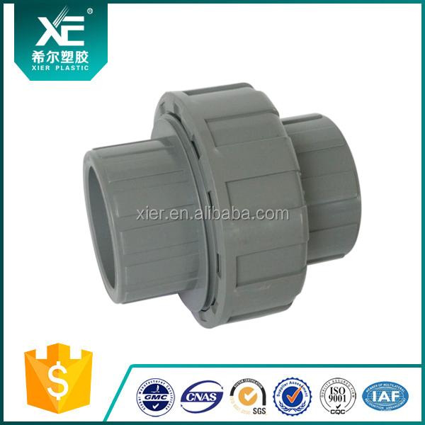 Xe UPVC raccord de tuyau union pour système d'irrigation Fabrication Les fabricants, fournisseurs, exportateurs, grossistes