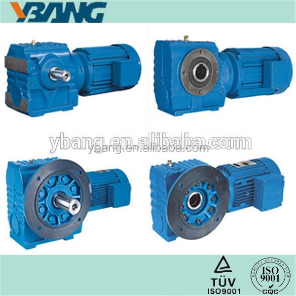 S Series Helical Gear 90 Degree Worm Gear Motor