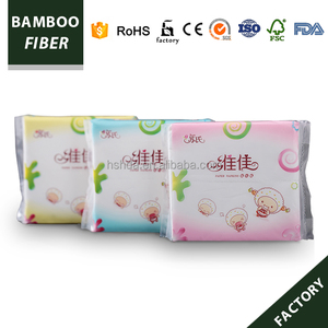 Eco-friendly Cartoon Lamp Packing Napkins colorful mini square facial tissue 30pcs