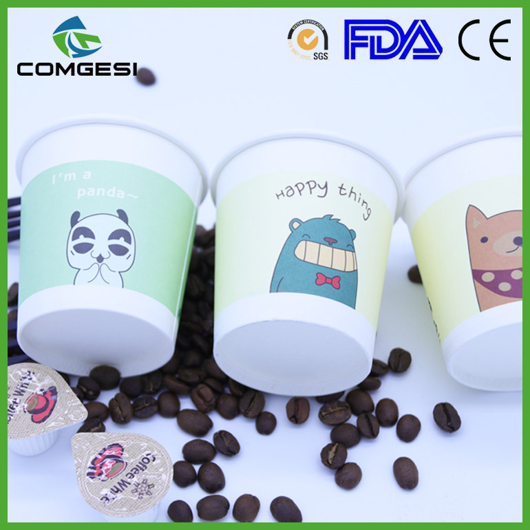 200cc Beverage cup_disposable non spill beverage 7oz paper cup_7oz coffee paper cup