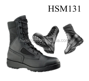 Waterproof Assault US Army Air Pilot Force Issued Military Flight Boots 26f5e108d9e2