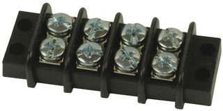 Barrier Terminal Blocks .375 LOW PROFILE 4P screw terminal style (1 piece)