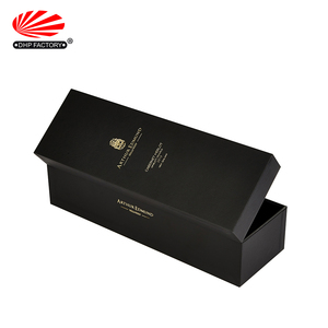 Custom High Quality Beautiful Luxury Paper Cardboard Liquor Gift Packaging Leather Wine Box