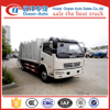 Dongfeng 4x2 driving 8CBM waste management garbage truck