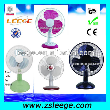 Leege Brand Electric Table Fan Specifications Ultra Quiet Desk Ac 220v Cooling