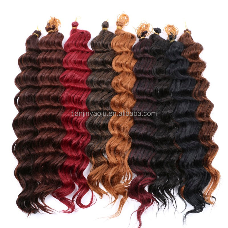 Alibaba Express Pre Loop 3x Deep Synthetic Afro Twist Braid For Afro
