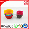 Promotional gift flexiable silicone muffin microwave safe cake pan