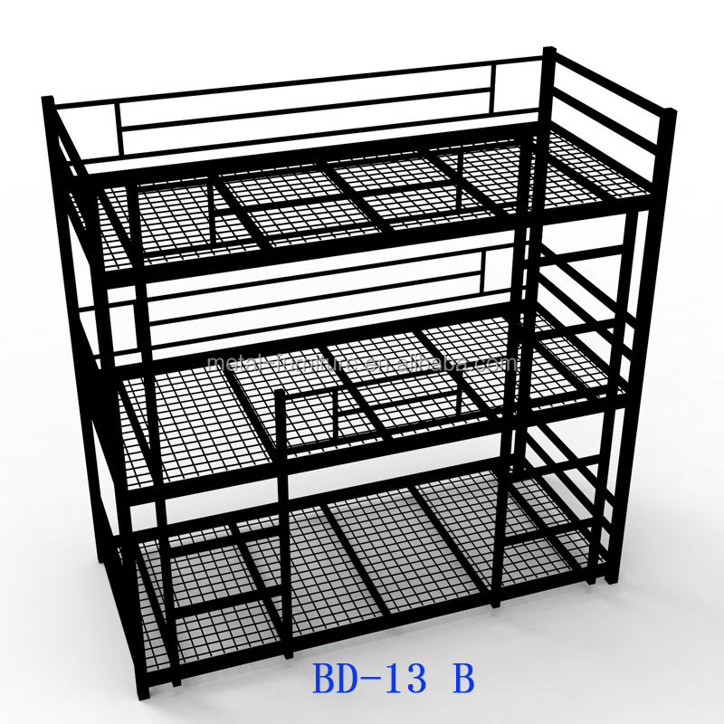 modern dormitory hostels 3 tier 3 sleeper steel metal triple bunk <strong>bed</strong>